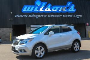 2015 Buick Encore AWD!  LEATHER! NAVIGATION! SUNROOF! HEATED STE