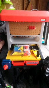 Little tykes tool work bench