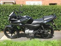 Honda CBF125 2011 plate