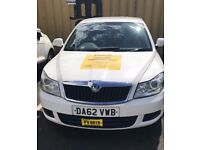 MANCHESTER PLATE TAXI **AUTOMATIC** AVAILABLE TO HIRE IMMEDIATELY