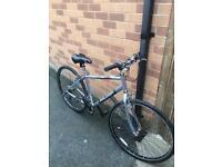 RALEIGH TC 100 series hybrid bike large frame very lightweight