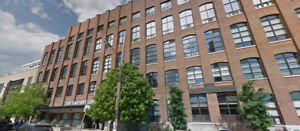 Toy Factory Lofts--1 bed w/ parking! Walk to LIberty Village!
