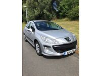 Peugeot 308 S auto 1.6 litre. Low miles. Immaculate condition