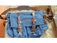 KATTEE denim satchel bag, or camera bag. Really sturdy strong bag .