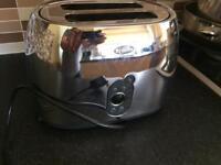 Breville classique Toaster silver coloured
