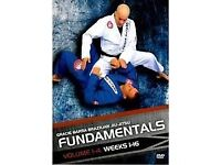 GRACIE BARRA FUNDAMENTALS instructional 4 dvds - postage paypal - bjj brazilian jiu jitsu training