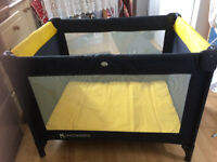 Kingswood Travel Cot/Play Pen. Used but in good condition.