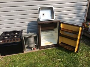 RV Furnace and Sink left For Sale
