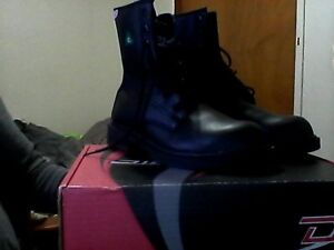 like new black safety shoes