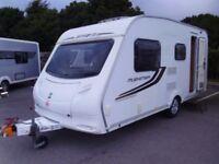 2010 Sprite Musketeer EB 3 x FIXED BUNK BEDS 5 Berth Touring Caravan.