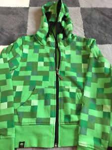 Minecraft Hoodie - Youth Small
