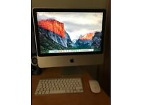 "Apple iMac 20"" Core Duo 2, Upgraded 4GB RAM, 240GB SSD, with wireless keyboard and mouse"