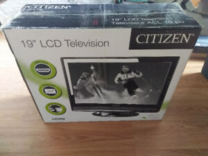 "19"" LCD TV - Still in Box - Barely Used"