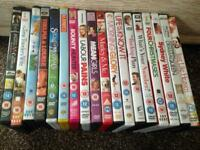 Various DVDs 50p each