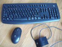 Logitech Deluxe 660 Cordless Desktop Keyboard