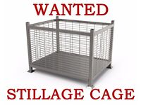 STILLAGE CAGES WANTED