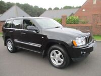 JEEP GRAND CHEROKEE 3.0 V6 CRD LIMITED 5d AUTO 215 BHP (black) 2006