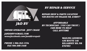 Rv Repair discounts for fall and winter work