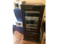 Music system in attractive cabinet