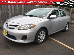 2013 Toyota Corolla CE, Automatic, Heated Seats, Only 21, 000km
