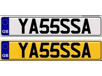 YASSAA YASIR YASER private number plate for sale