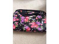 Flowery laptop bag