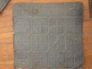 Tin ceiling tiles from 1800's home