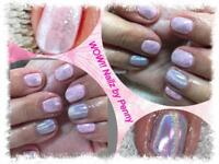 CND Shellac manicures and pedicures.