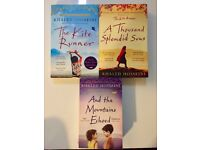 Books: Khaled Hosseini: The Kite Runner/A Thousend Splended Suns/And The Mountains Echoed