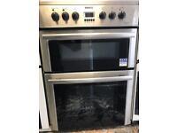 Beko ceramic cooker 60cm stainless steel fully working order for sale