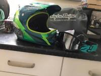 Troy Lee d2 fox goggles