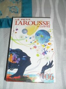 Dictionnaire Le Petit Larousse Illustré grand format