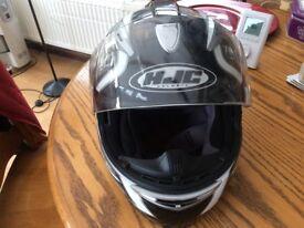 Crash helmet. HJC medium size