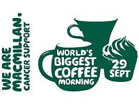 Macmillan Coffee Morning at Caerwent Village Hall