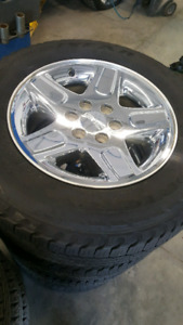 Gm all terrain rims and tires