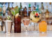 Bartender needed for a City bar every Sunday off and great service charge