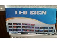 LED Shop OPEN sign