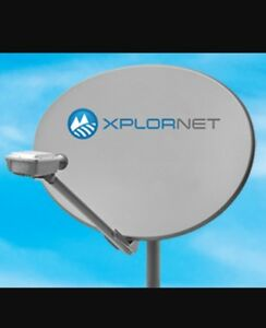 Xplornet dish alligement
