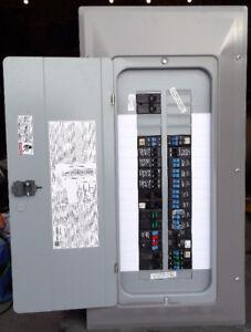 Panneaux 100 AMP de 20 à 40 circuits de plusieurs marques connus