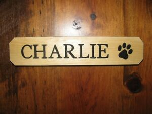 Beautiful Wooden Signs for Horse Stalls and Barns