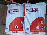 8 bags of postcrete