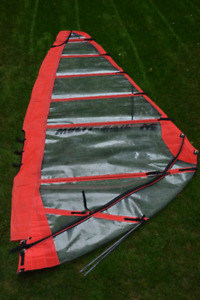 Windsurfing Sail, Multi-Race Sail --4.8/5.4 Two Sails.