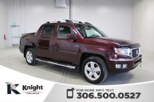 2011 Honda Ridgeline EX-L Sunroof, Leather
