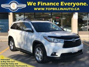 2014 Toyota Highlander Limited, Navi, Roof, Backup Cam, B-Spot M