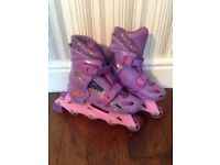 Girls Bratz adjustable Roller Blades size 12 to 1