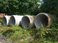 Concrete pipes