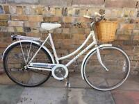 Vintage Ladies Raleigh Caprice town Bike with basket