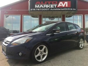 2012 Ford Focus Titanium, Bk Up CAM, Leather, WE APPROV ALL CRED