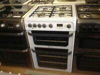 Hotpoint gas cooker (double oven)