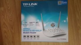 Tp-link router as new